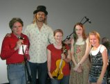 Tom Fitzgerald, Andrew Clermont, Somara Redman, Caitlin MacGowan and Louise Brown